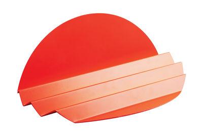 Accessoires - Accessoires bureau - Organiseur de bureau Sunset / Métal - L 29,5 cm - L'atelier d'exercices - Orange - Acier peint