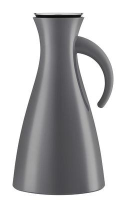 Pichet isotherme 1 L / Ø 15,5 x H 29 cm - Eva Solo gris en matière plastique