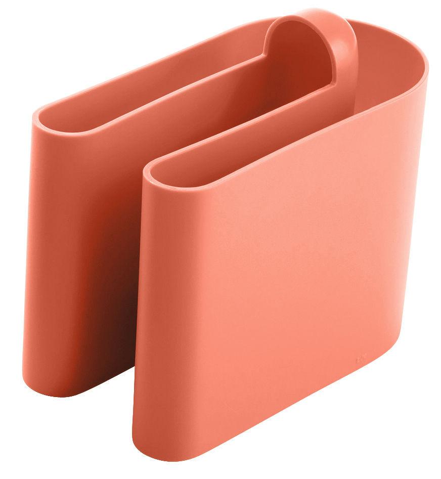 Arredamento - Mobili Ados  - Portariviste Buk di B-LINE - Arancio - Polietilene