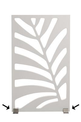 Image of Set 2 pieds / Pour paravent Kentia - Serralunga - Metallo - Metallo