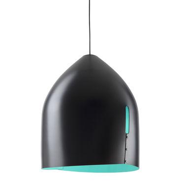Suspension Oru / Ø 37 cm - Fabbian bleu,noir en métal