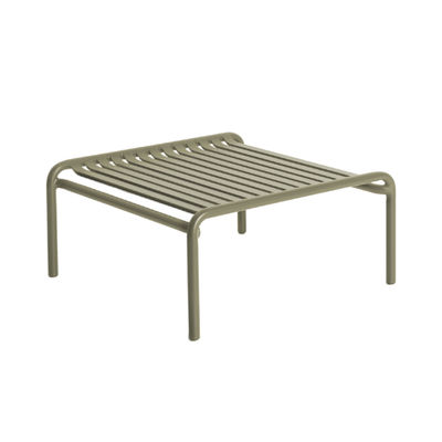Table basse Week-End / Small - 69 x 60 cm - Aluminium - Petite Friture vert en métal