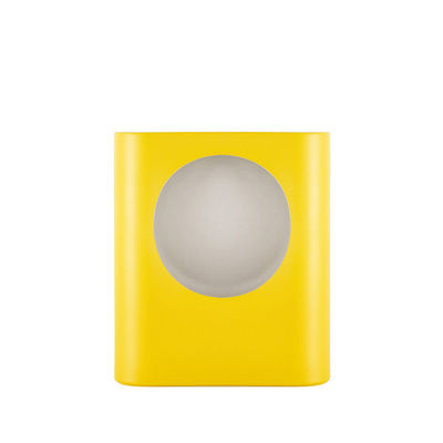 Lighting - Table Lamps - Signal Small Table lamp - / Ceramic - Hand-made / H 28 cm by raawii - Freesia yellow - Ceramic