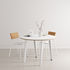Table ronde New Modern / Ø 110 cm - Stratifié / 4 à 6 personnes - TIPTOE