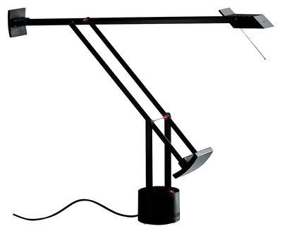 Leuchten - Tischleuchten - Tizio Tischleuchte - Artemide - Schwarz - klarlackbeschichtetes Aluminium