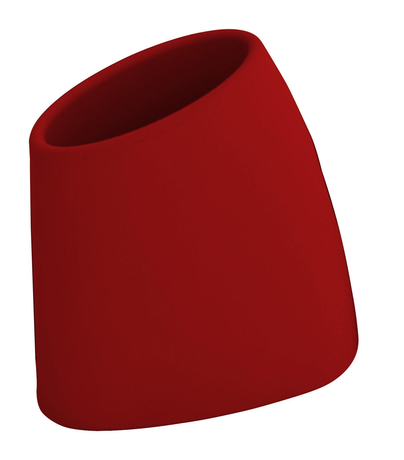 Outdoor - Vasi e Piante - Vaso per fiori Tao M - A 60 cm di MyYour - Rosso - Polietilene rotostampato