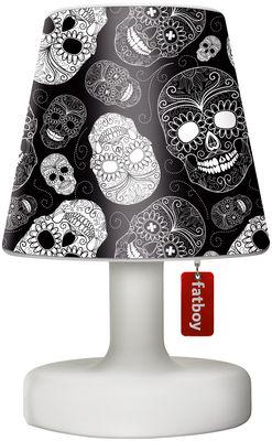 Luminaire - Lampes de table - Abat-jour Cooper Cappie / Pour lampe Edison the Petit - Fatboy - Skull black / noir - Polyéthylène