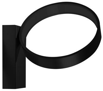 Applique Eclittica LED / Ø 20 cm - Danese Light noir en métal