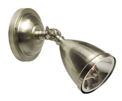 Luminaire - Appliques - Applique Spot / L 17 cm - Orientable - Original BTC - Plaqué nickel - Métal plaqué nickel