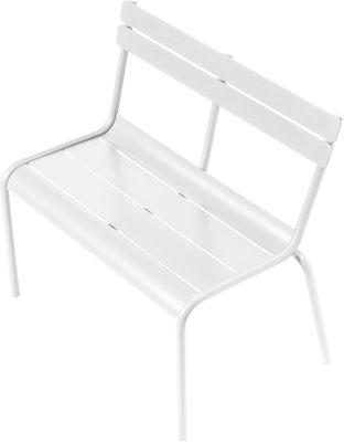 Mobilier - Mobilier Kids - Banc enfant Luxembourg Kid / L 58 cm - Aluminium - Fermob - Blanc - Aluminium