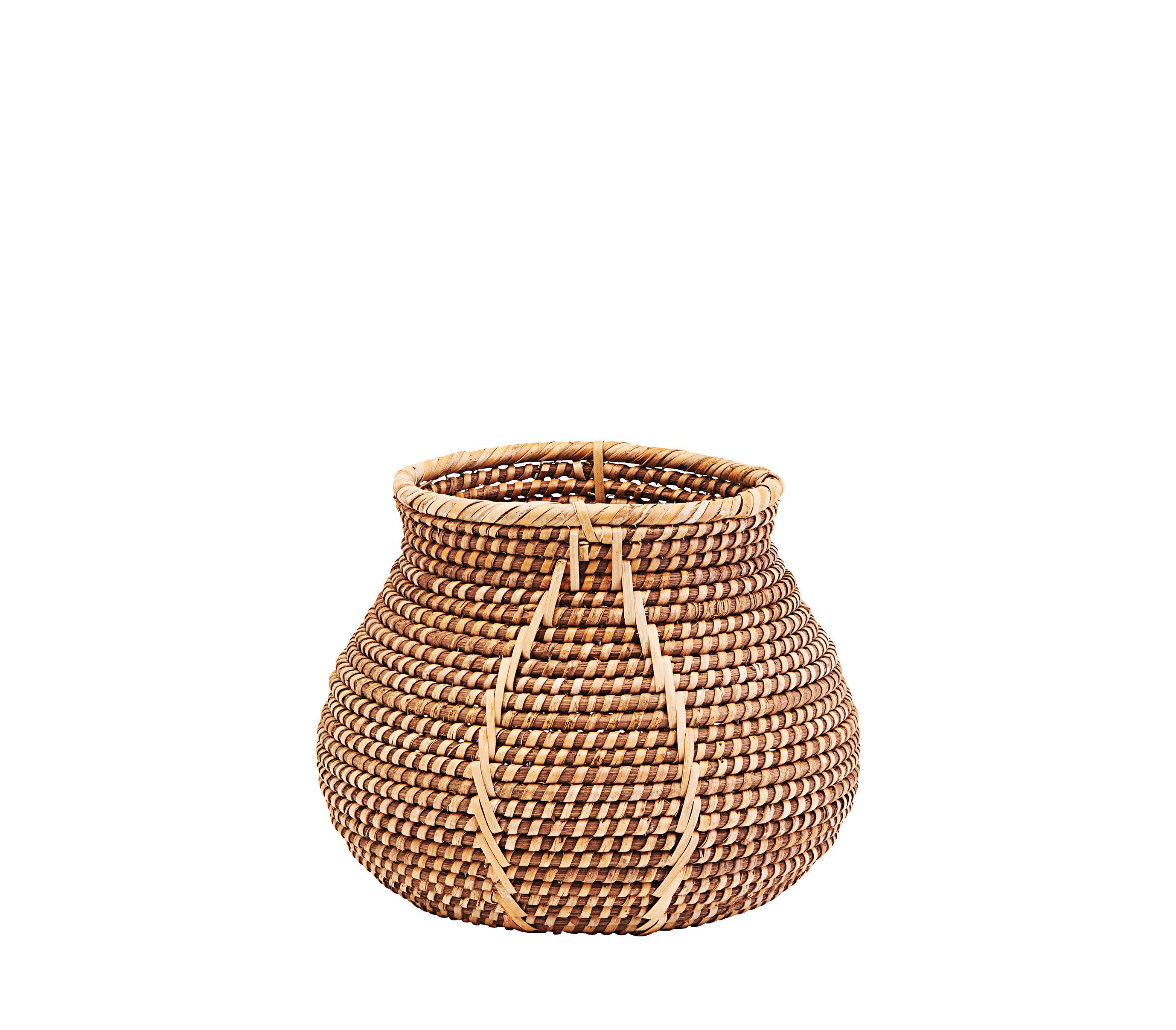 Decoration - Boxes & Baskets - Azeema Basket - / Rattan - Ø 28 x H 21 cm by House Doctor - Ø 28 x H 21 cm / Rattan - Rattan