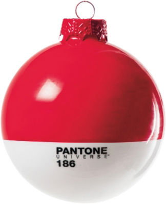 Decoration - Home Accessories - Pantone Bauble by Seletti - 186 - Ruby red - Blown glass