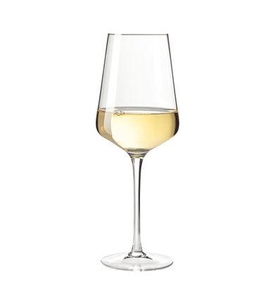 Tavola - Bicchieri  - Bicchiere da vino Puccini / 56 cl - Leonardo - Trasparente - Vetro Teqton