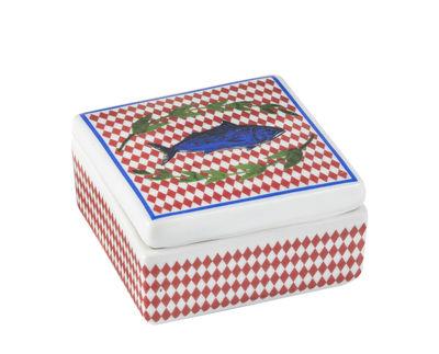Déco - Boîtes déco - Boîte Bel Paese - Pesce / Porcelaine - 6 x 6 cm - Bitossi Home - Poisson - Porcelaine