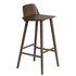 Chaise de bar Nerd / H 75 cm - Bois - Muuto