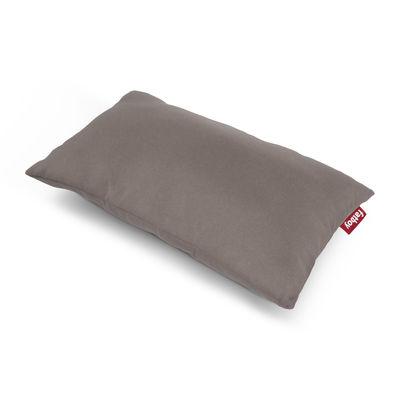 Coussin d'extérieur King OUTDOOR / Tissu acrylique - 66 x 40 cm - Fatboy blanc/beige en tissu