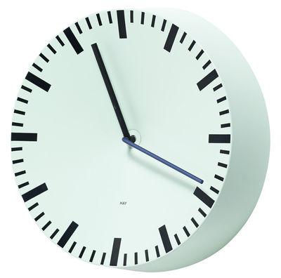 Horloge murale Analog / Ø 27 cm - Hay vert menthe en métal