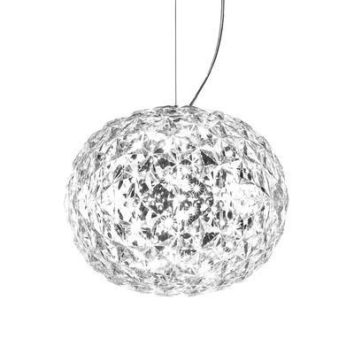 Planet Pendelleuchte / LED - Ø 33 cm - Kartell - Kristall