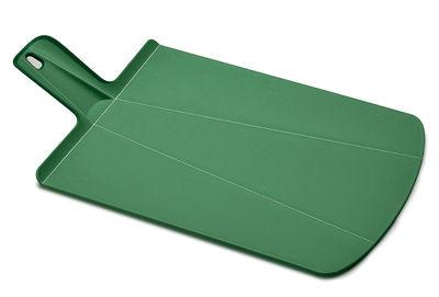 Planche à découper Chop2Pot / Pliable - L 38 cm - Joseph Joseph vert forêt en matière plastique