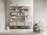 String® System Shelf - Wood / Magazine & shoe rack - L 58 cm by String Furniture