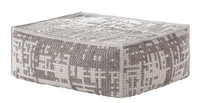 Abstract Sitzkissen / 100 x 70 cm - Gan - Grau,Beige