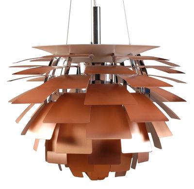 Luminaire - Suspensions - Suspension PH Artichoke Ø 48 cm - Louis Poulsen - Cuivre - Acier, Aluminium