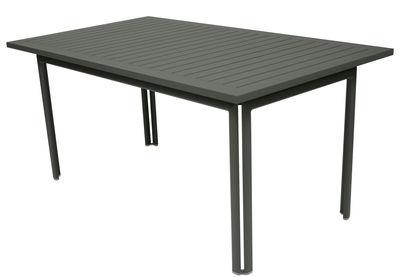 Table Costa / 160 x 80 cm - Fermob romarin en métal