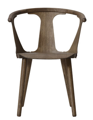 Furniture - Chairs - In Between Armchair - Oak by And Tradition - Smoked oak - Oiled smoked oak