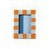 Cadre-photo Check Rectangle / 13,5 x 18,5 cm - Polyrésine - & klevering