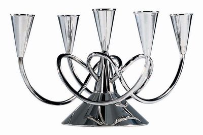 Decoration - Candles & Candle Holders - Matthew Boulton II Candelabra by Driade Kosmo - Aluminium - Aluminium