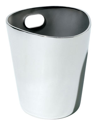 Tableware - Wine Accessories - Bolly Wine cooler by Alessi - Steel - Stainless steel
