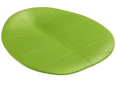 Coussin d'assise / Pour chaise Leaf - Arper vert en matière plastique