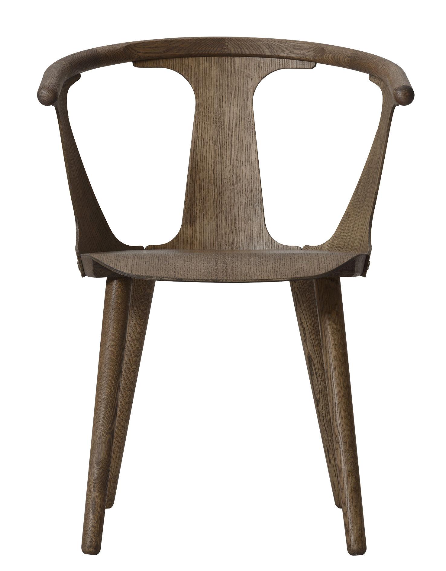 Mobilier - Chaises, fauteuils de salle à manger - Fauteuil In Between / Chêne - &tradition - Chêne fumé - Chêne huilé fumé