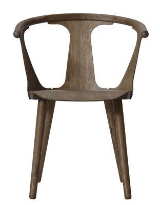 Mobilier - Chaises, fauteuils de salle à manger - Fauteuil In Between SK1 / Chêne - &tradition - Chêne fumé - Chêne huilé fumé