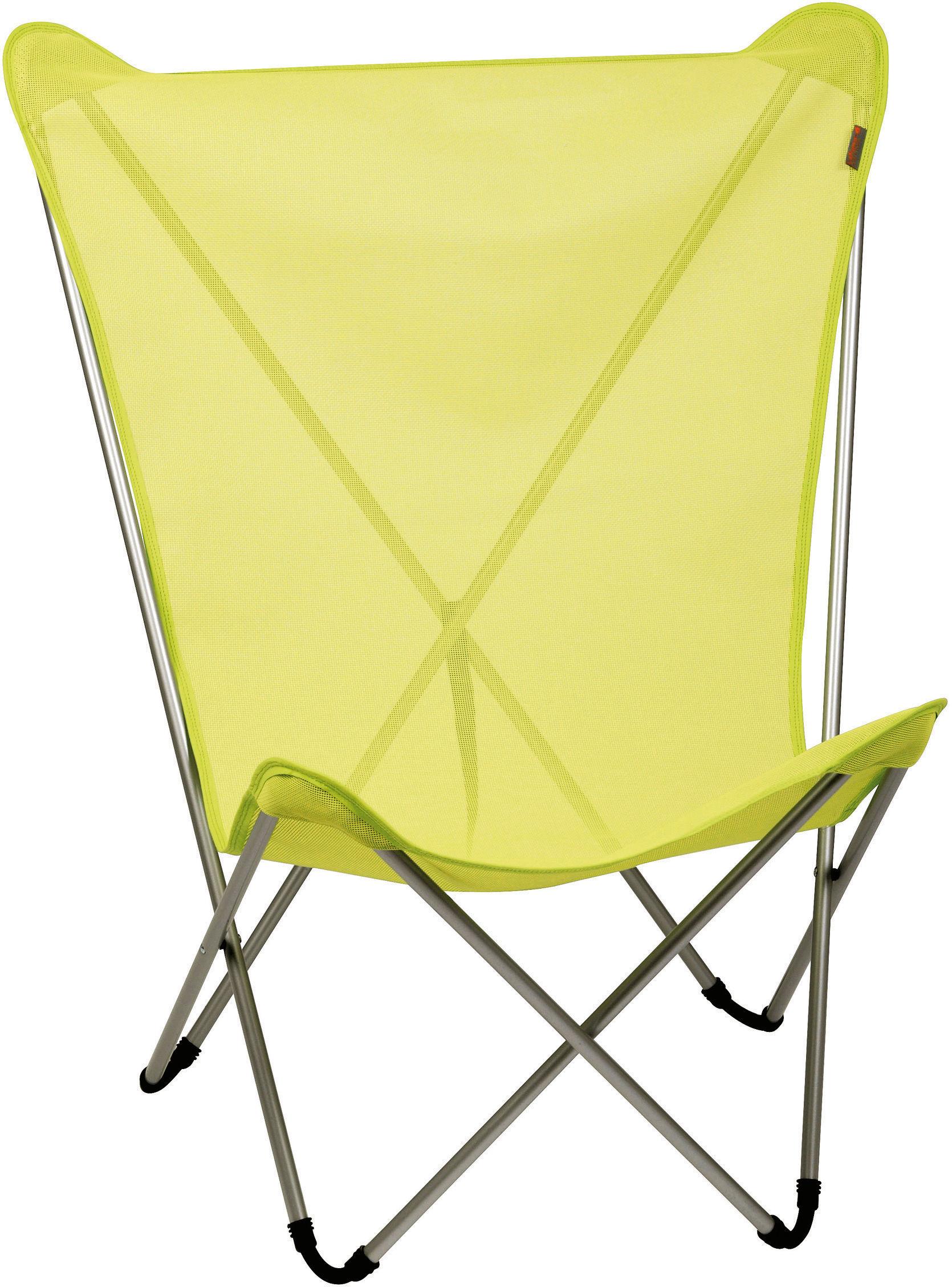 fauteuil maxi pop up lafuma anis structure noire l. Black Bedroom Furniture Sets. Home Design Ideas