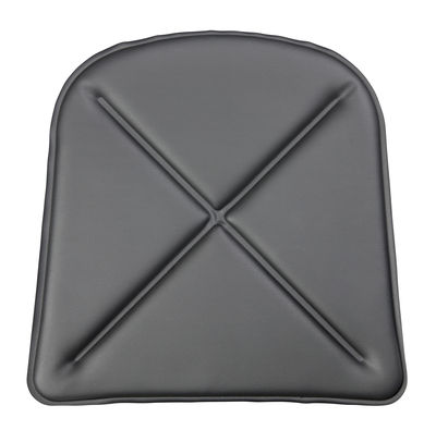 Galette d'assise / Similicuir - Pour chaise A et fauteuil A56 - Tolix noir en cuir