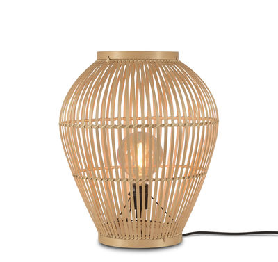 Lighting - Table Lamps - Tuvalu Small Lamp - / Bamboo - H 50 cm by GOOD&MOJO - H 50 cm / Natural - Bamboo