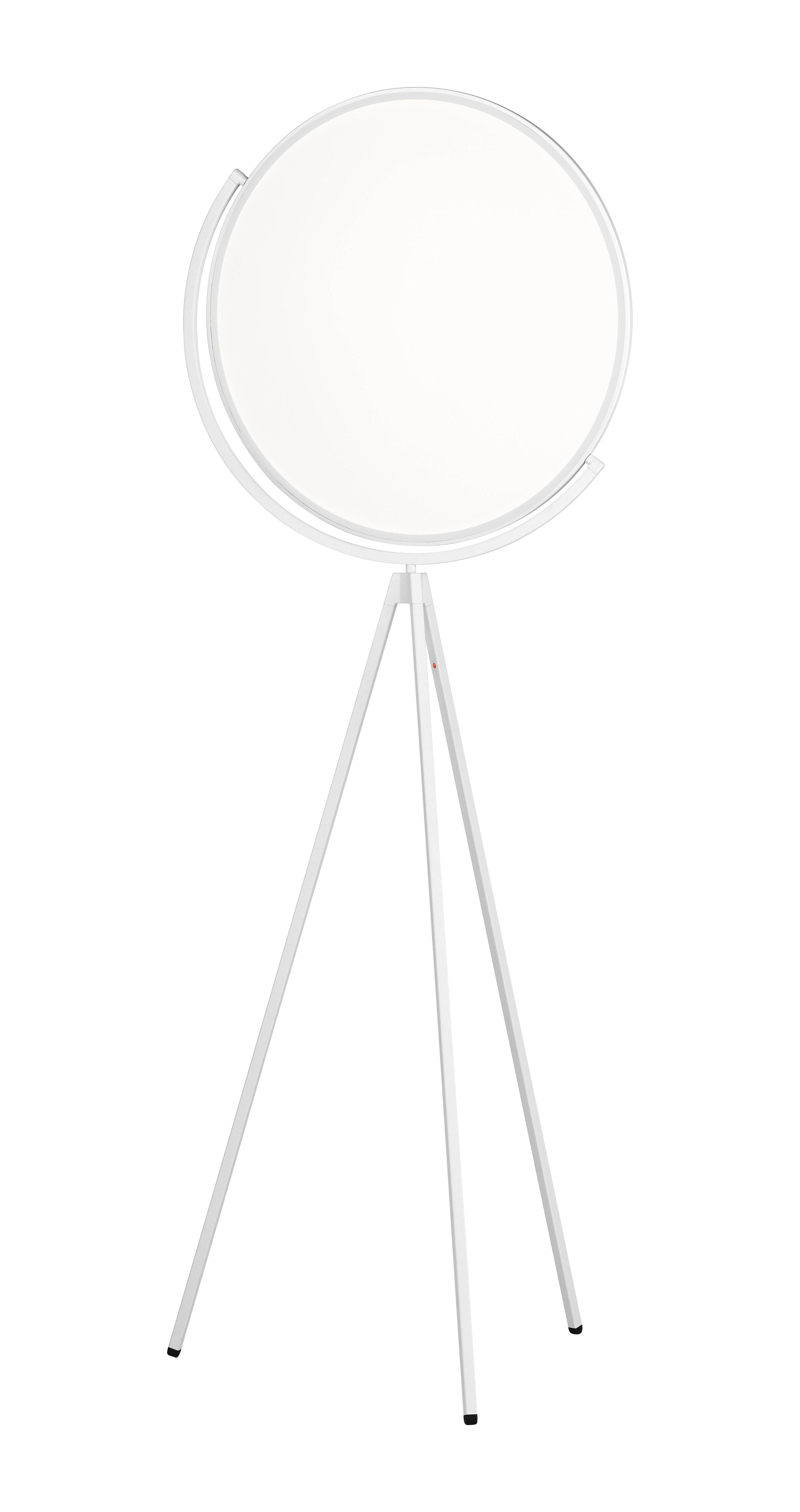 Luminaire - Lampadaires - Lampadaire Superloon LED / H 197 cm - Orientable - Flos - Blanc - Aluminium peint, PMMA