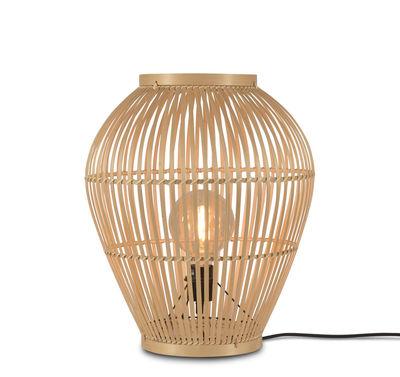 Lampe à poser Tuvalu Small / Bambou - H 50 cm - GOOD&MOJO naturel en fibre végétale
