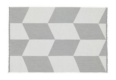 Interni - Tessili - Plaid Sway - / 130 x 180 cm di Muuto - Nero & bianco - Lana merinos
