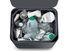 Poubelle de tri Totem Max 60L / 2 bacs 30L + 1 bac déchets organiques 4L - Joseph Joseph