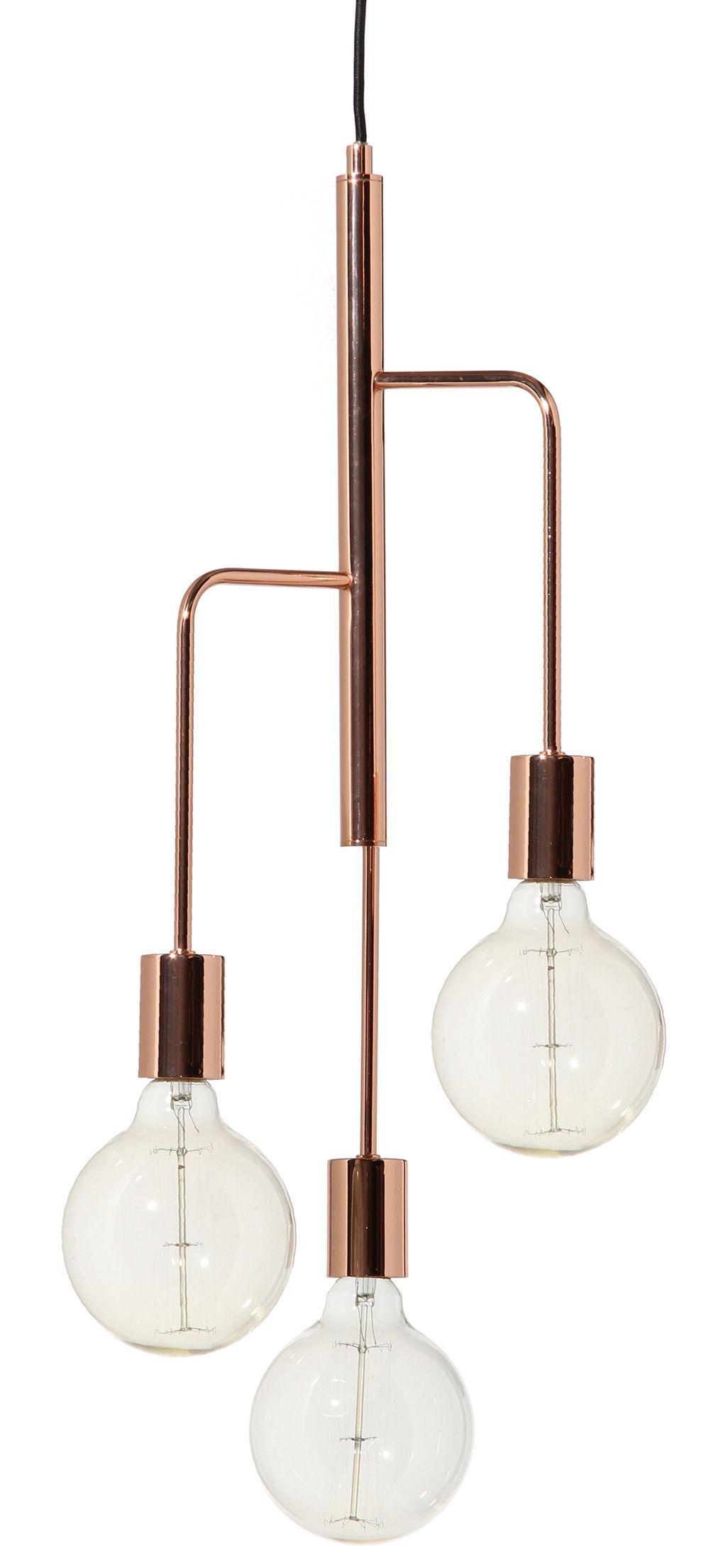 Illuminazione - Lampadari - Sospensione Cool - / Ø 25 cm di Frandsen - Rame - Métal finition cuivre