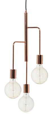 Luminaire - Suspensions - Suspension Cool / Ø 25 - Frandsen - Cuivre - Métal finition cuivre