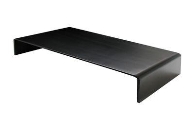 Table basse Solitaire Basso 95 x 65 x H 25 cm - Zeus noir en métal