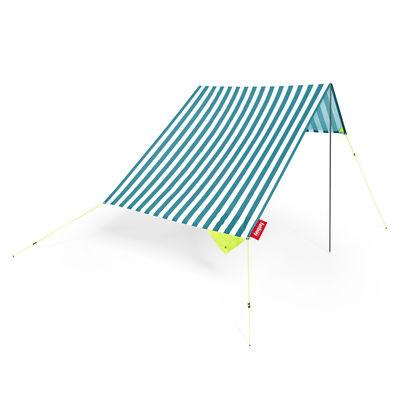 Outdoor - Parasols - Tente de plage Miasun - Fatboy - Azur / Rayé bleu - Aluminium, Coton