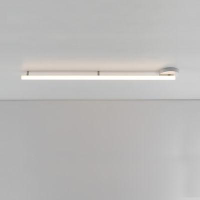 Lighting - Wall Lights - Alphabet of light Linear Wall light - / LED - L 120 cm / Bluetooth by Artemide - L 120 cm / White - Aluminium, Methacrylate