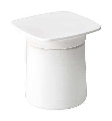 Image of Accessorio tavolo - /Per tavolino - Polipropilene di Kristalia - Bianco - Materiale plastico