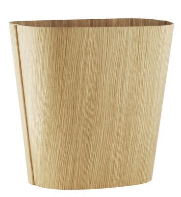 Decoration - Centrepieces & Centrepiece Bowls - Tales of wood Basket by Normann Copenhagen - Oak - Oak