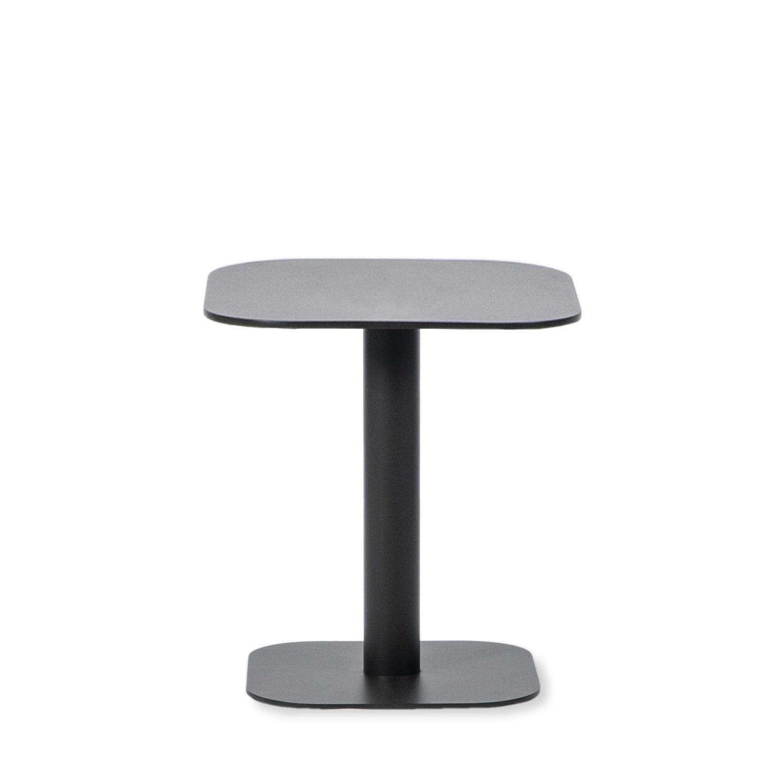 Möbel - Couchtische - Kodo Beistelltisch / 41 x 41 cm - Aluminium - Vincent Sheppard - Fossilgrau - Aluminium thermolaqué