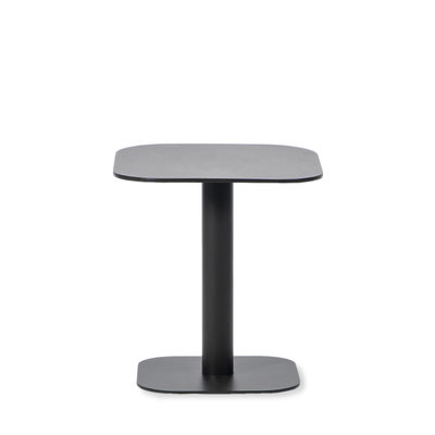 Furniture - Coffee Tables - Kodo End table - / 41 x 41 cm - Aluminium by Vincent Sheppard - Fossil grey - Thermolacquered aluminium